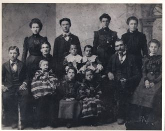 William & Emily (Eldridge) Harmon Family, 1898
