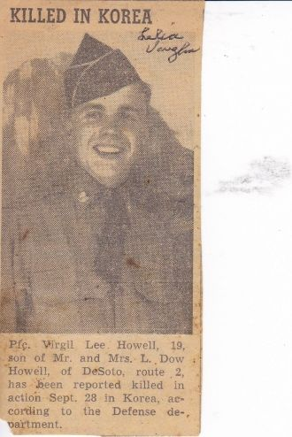 Virgil Lee Howell obituary