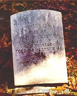Christiana Cramer Headstone