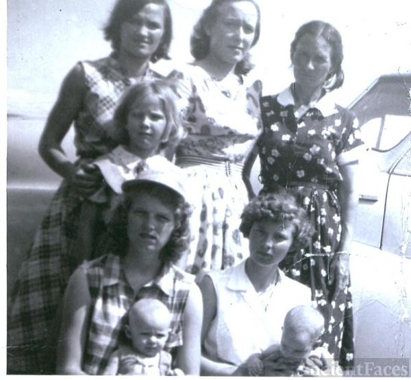 Family photo from Arkansas 1955