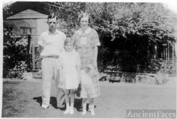 Losey Family, Arkansas 1934