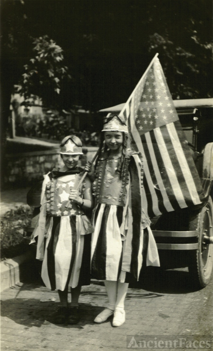 Ruth Jacobs, July 4th, 1923