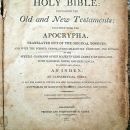Vescelius family bible