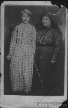 Possible Bowers woman and girl