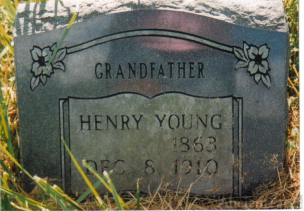 Headstone of Henry Young
