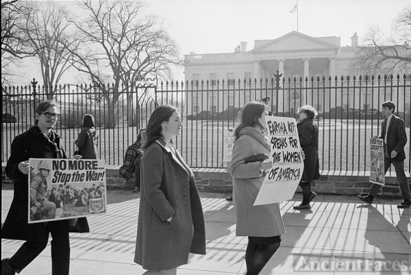 [Anti-Vietnam war protest and demonstration in front of...