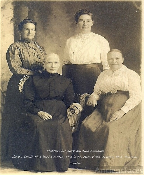 Dahl, Osell, Vista & Pierson Ladies, California?