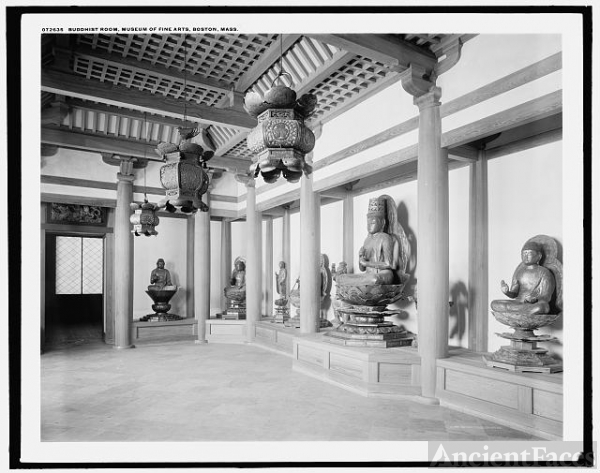 Buddhist Room, Museum of Fine Arts, Boston, Mass.