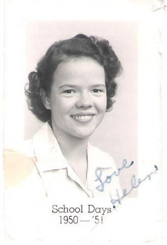 Helen Sanders, Gruver High School 1951