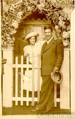 Clare Salter and Patrick O'Brien about 1922