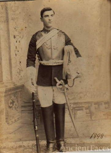 Richard Collett-British lst Life Guards (Cavalry)