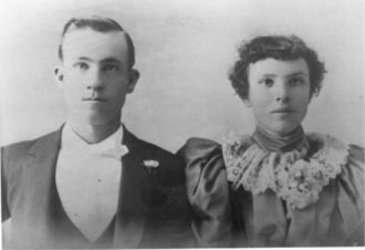 Walter Stone and Frances Morse