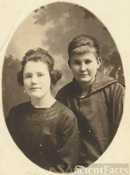 Emma Reeves and Maude Rupp