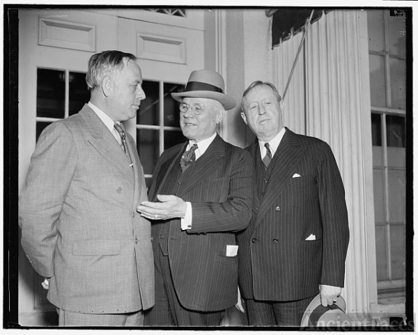 A.F. of L. President protests to Roosevelt about P.W.A....