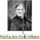 Mrs. Martha Ann (Pond) Williams