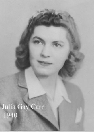 A photo of Julia Carr