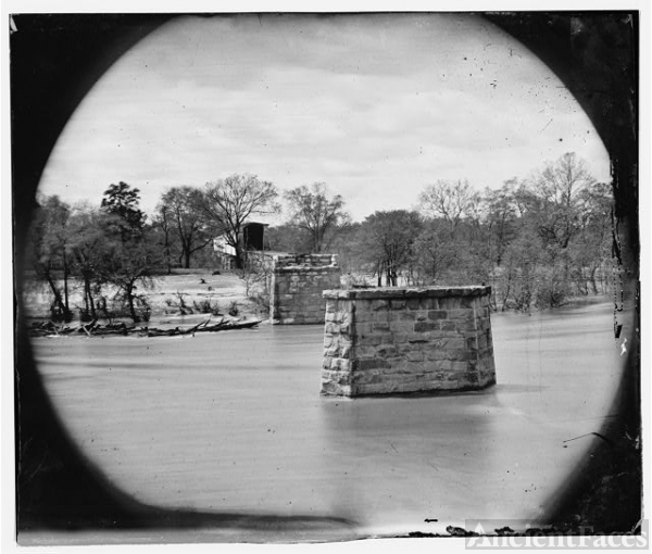 [Richmond, Va. Ruins of Richmond & Danville Railroad...