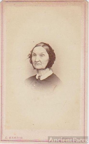 Lucy (Peet) Richards, Illinois c1865