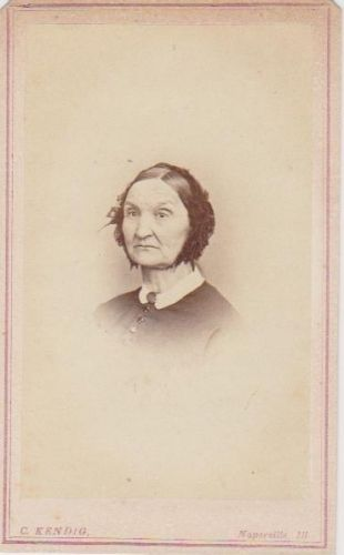 A photo of Lucy (Peet) Richards