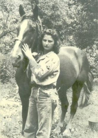 Delores with Horse