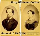 Samuel J. McBride & Mary Diadema Cotton