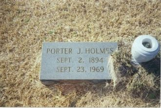 A photo of Porter J Holmes