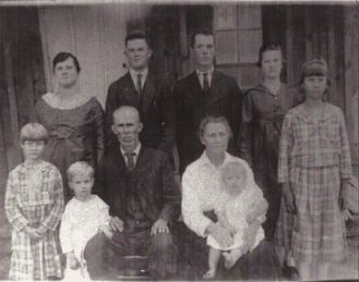 A photo of Charles Holmes Howard Family