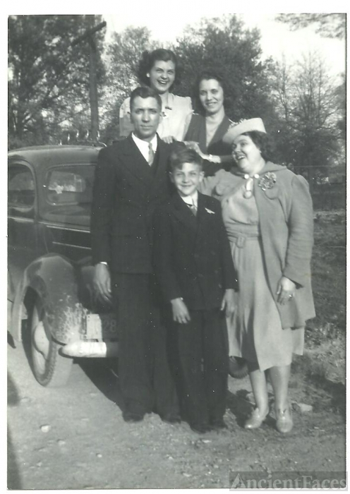 Herbert Vertrees Family, Kentucky 1940