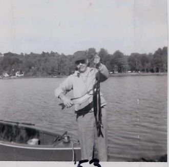 Uncle Eddie Keib at CadjawPond