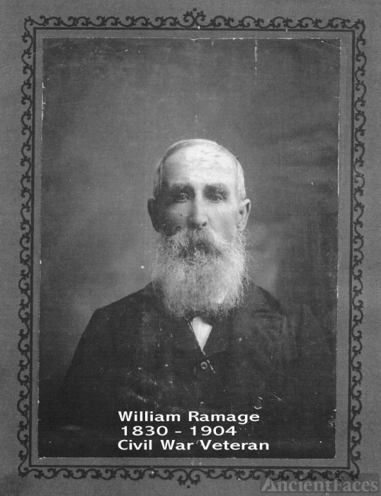 William Ramage, 1890 AL