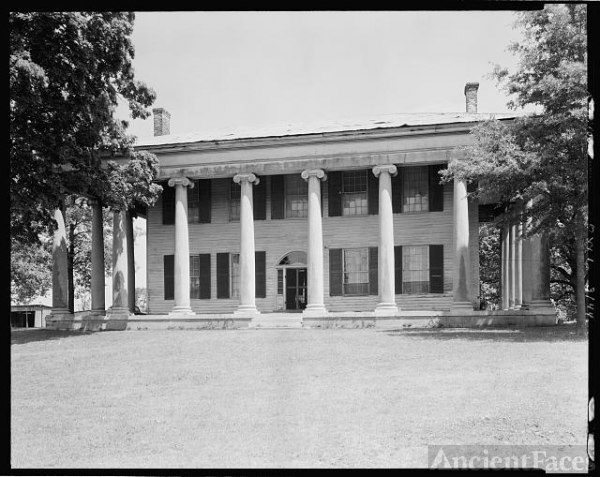 James Jackson House, Florence vic., Lauderdale County,...
