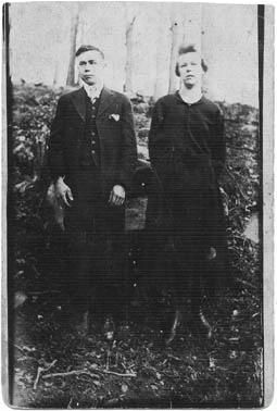 Grandparents Basil and Sarah Leota Engle Brock