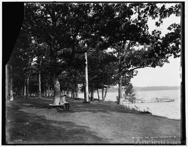 [Green Lake, Wis., from Pleasant Point]