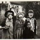Neighborhood Halloween in the 1930's