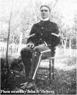 Homer Abner Clotfelter in uniform