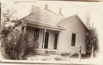 Lucille (McClelland) Bomstead Home, Kansas