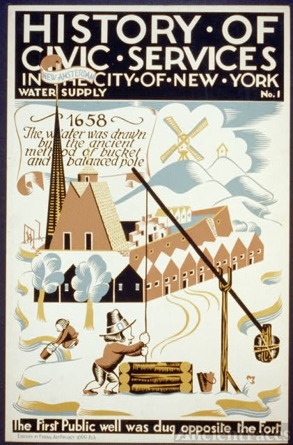 History of civic services in the city of New York Water...