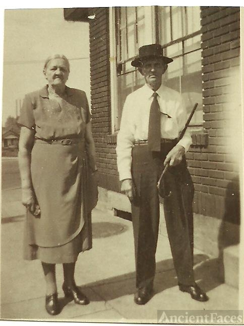 James E. & Louella (White) Vertrees, Kentucky