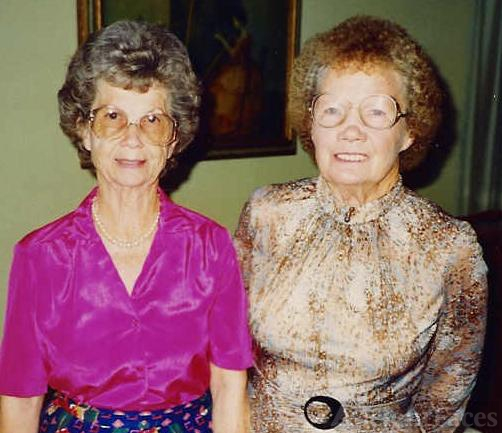Doris and Elena Russell