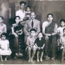 Nasim & Sultan Alam Khan Brelvi Family, India 1953