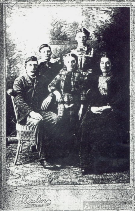 James E. Burns Family photo
