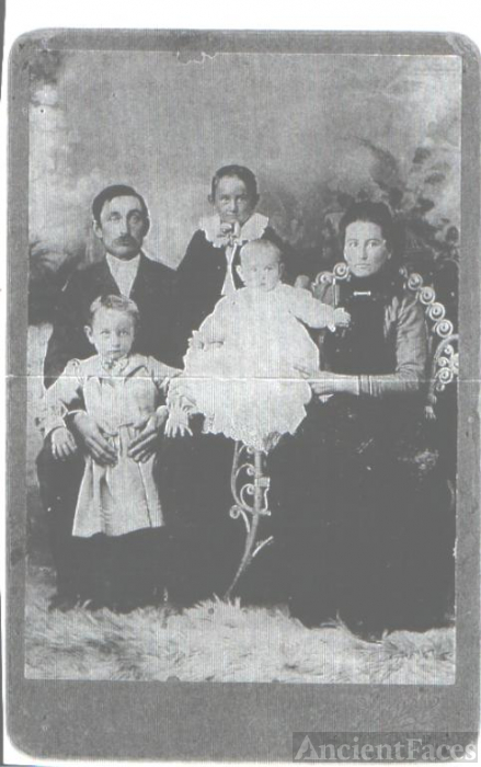 Unknown Mitchell family