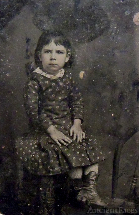 Unknown little girl, Louisiana