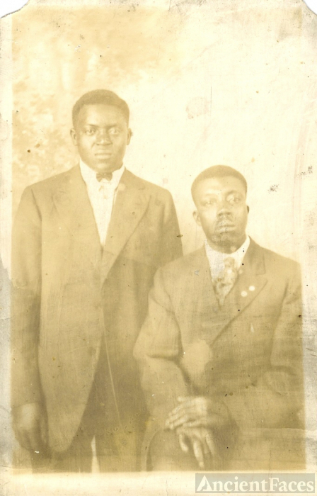 Two African American young men