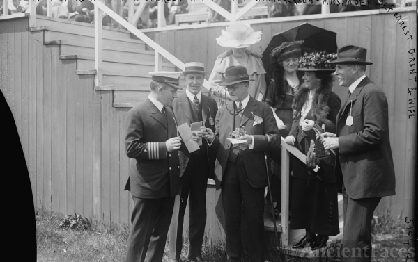 Arthur Jackson at the races