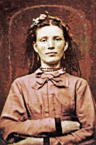 A photo of Nellie (O'Conner) Pochron