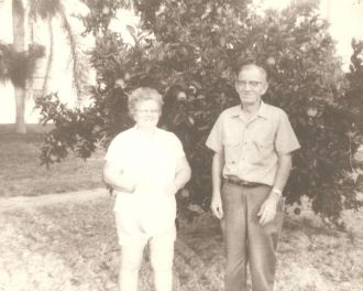 Phillip & Oma (Rogers) Moseley, Florida