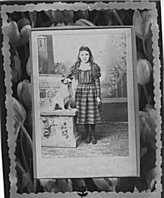 Worby Girl with her dog