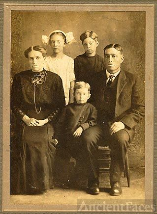 Franz Zunker and family