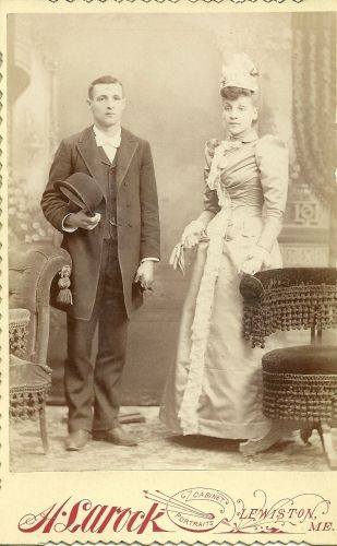 Flora Paradis and Joseph Thomas Bouchard